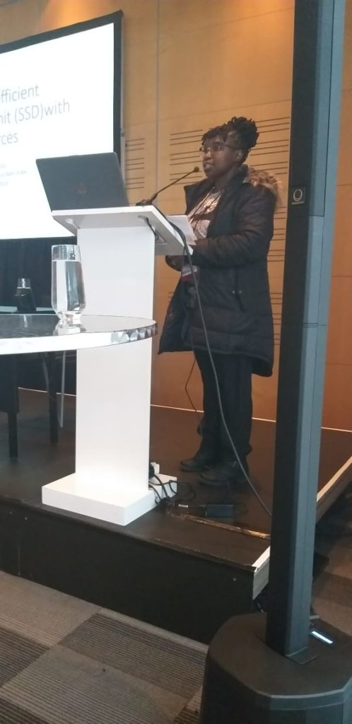 Lizzie Sithole on CSSD and LMI Countries
